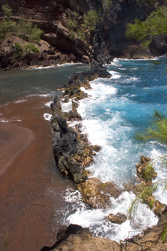 Kaihalulu Red Sand Beach | by xoque