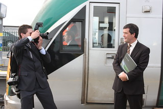 NEW STATION AT CLONDALKIN FONTHILL OPENED BY MINISTER | by robokubo