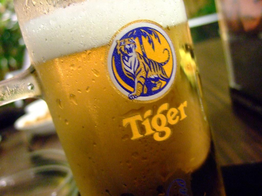 Tiger beer!