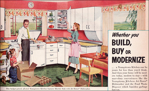 1953 Youngstown Kitchen This Youngstown Kitchen Ad Was