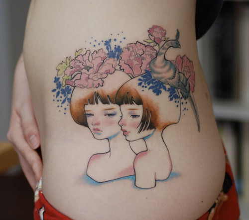 Audrey Kawasaki tattoo 1 | My sixth tattoo done on my 18th ...