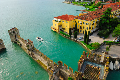 From the Castle Turret- Sirmione | by nickphotos