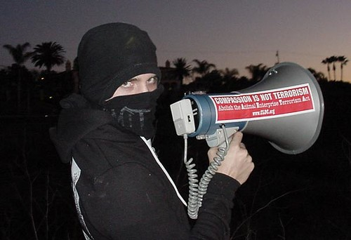 Bullhorn Not Eco-Terrorism | by GreenIsTheNewRed.com