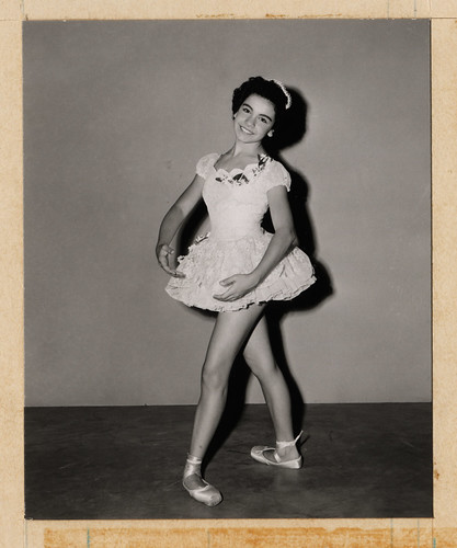 Annette the Ballerina, 1950s | by Miehana