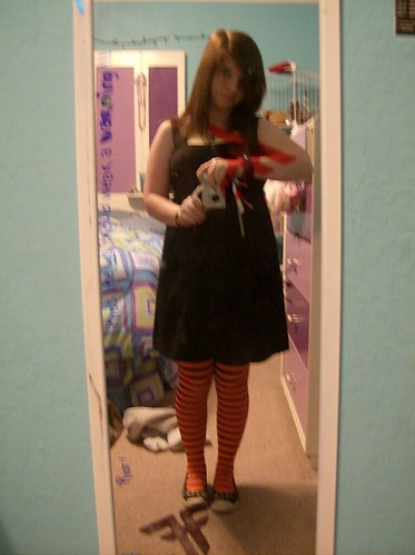 Black Dress With The Tights Underneath Before I Got Dresse Flickr