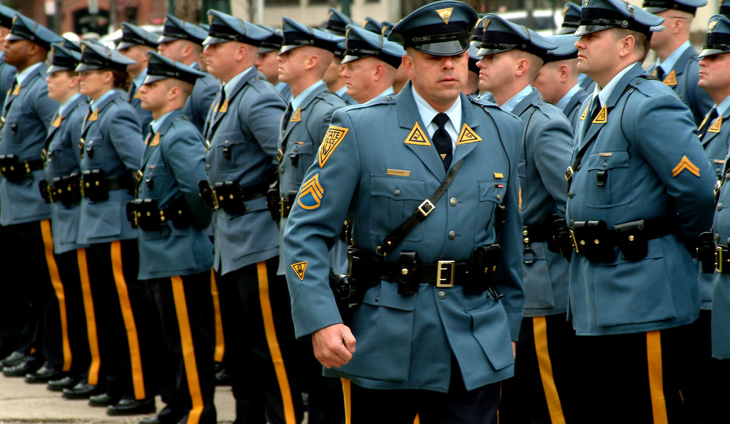 Who has the best police uniform in the world? : ProtectAndServe
