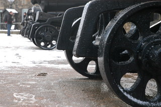 Gun wheels Edinburgh Castle also | by Saad Al-Enezi