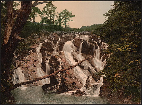 [Swallow Falls, Fairy Glen, Bettws-y-Coed (i.e. Betws), Wales] (LOC) | by The Library of Congress