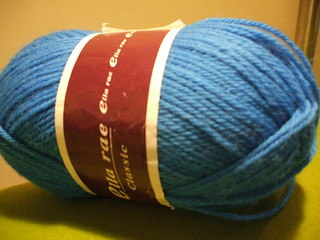 the last blue yarn evar | by Quirky Knit Girl