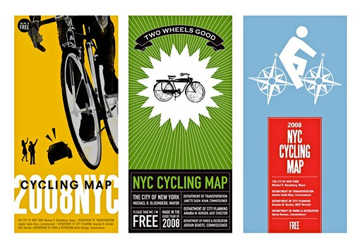 NYC Bike Map Covers | by Candy Chang