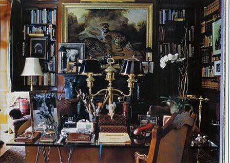 Ralph Lauren's Library at his Beford NY House | Ralph Lauren… | Flickr