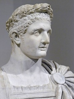 Bust of the Roman Emperor Domitian 1st century CE Marble (1) | by mharrsch
