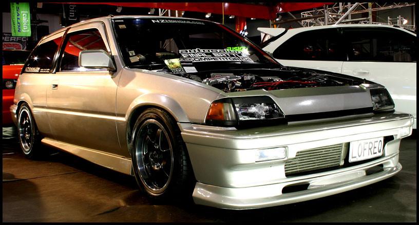 CARS - 1986 Honda Civic Si turbo | Flickr