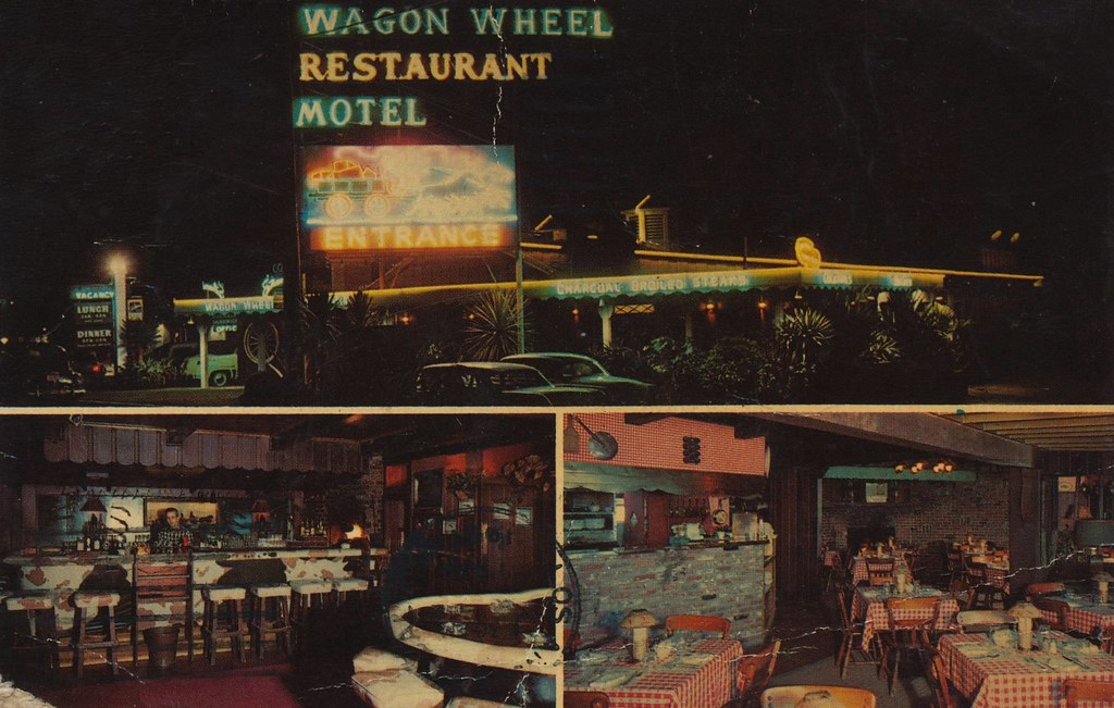 Wagon Wheel Restaurant - Wagon Wheel Junction, California