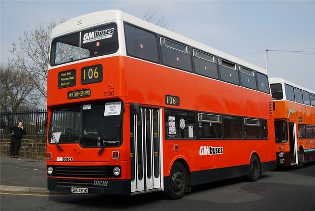 MCW Metrobus, SND 120X, GM Buses, Cheetham