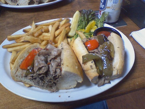 Chicago Style Italian Beef Sandwich | by Logtar