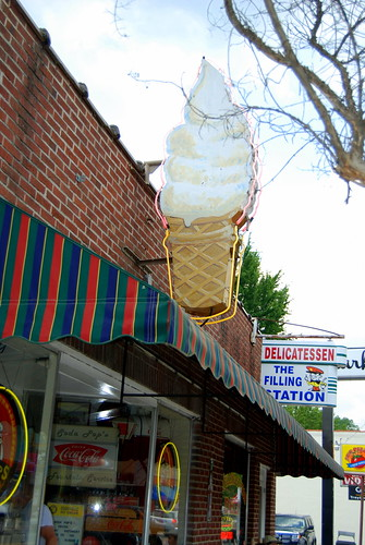 Ice cream shop, Bryson City 2 | by wesley jeanne