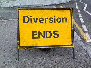 Diversion Ends | by shouting shadow