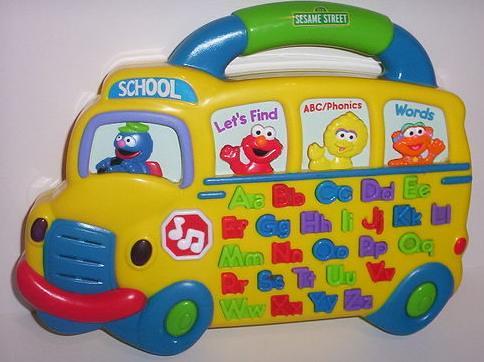 Alphabet Learning Toys : Sesame street abc alphabet bus educational learning toy u flickr