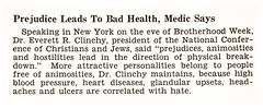 Prejudice Leads to Bad Health Says Dr. Everett R. Clinchy, President of Nat'l Conference of Christians and Jews - Jet Magazine, Feb 28, 1952 | by vieilles_annonces