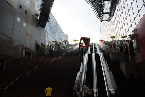 kyoto station escalators | by Doctor Memory