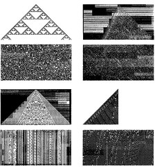 Steve Wolfram - Cellular Automata | by caseorganic