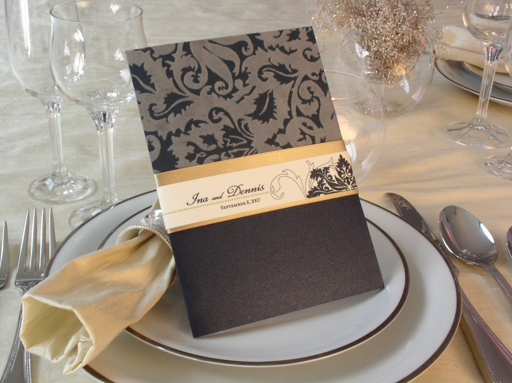 Elegant Wedding Invitation | Dari Design Studio | Flickr