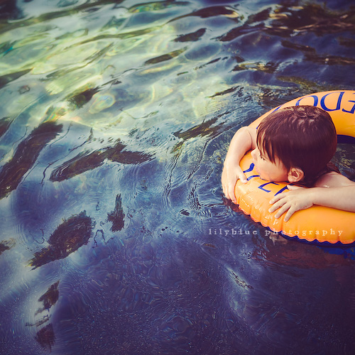 pool float | by {leah}
