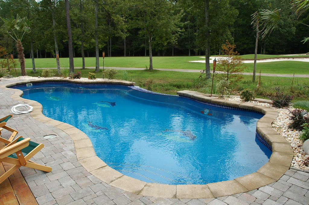 Viking pools pacific blue crystite finish flickr for Viking pools