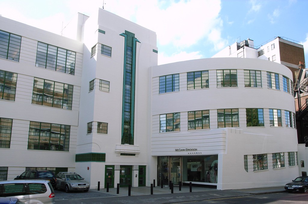 a walking tour of the best art deco architecture in london