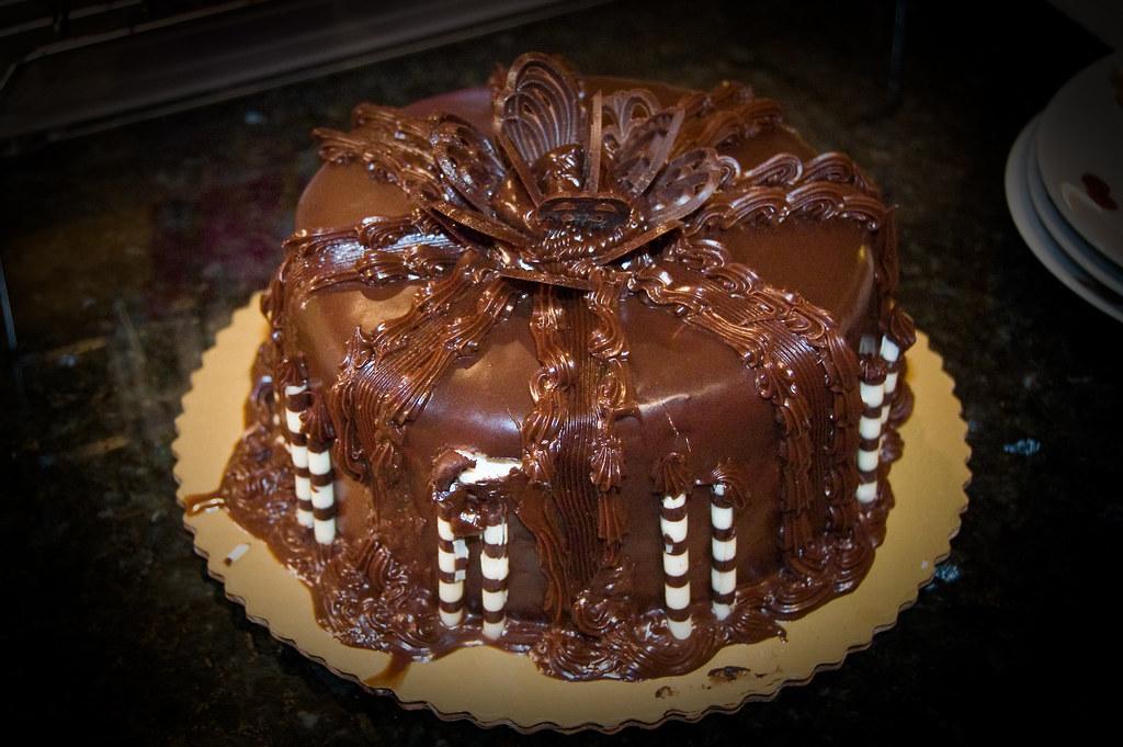 Chocolate Ganache Cake from Publix Dallas Flickr