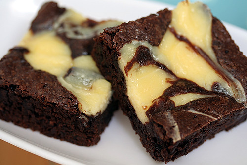 cheesecake brownies | by David Lebovitz