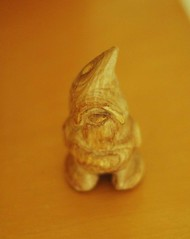 handcarved wooden gnome | by waldorf mama