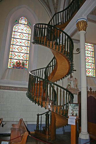 Loretto Chapel Staircase In 1872 Jean Baptiste Lamy The
