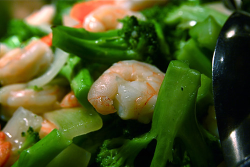 Chinese Food Shrimp Broccoli 12-6-08 6 | by stevendepolo