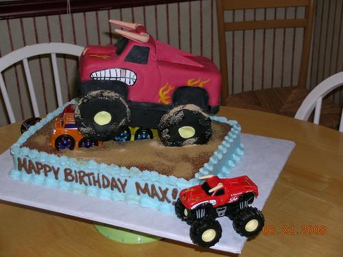 Monster Jam El Toro Loco El Toro Loco Birthday Cake