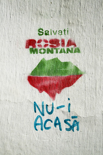 Save Rosia Montana | by vicbud