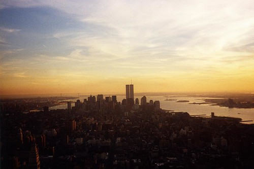 New York City skyline at sunset | by RoadTripMemories