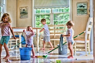 my very own cleaning crew | by Lori Elizabeth