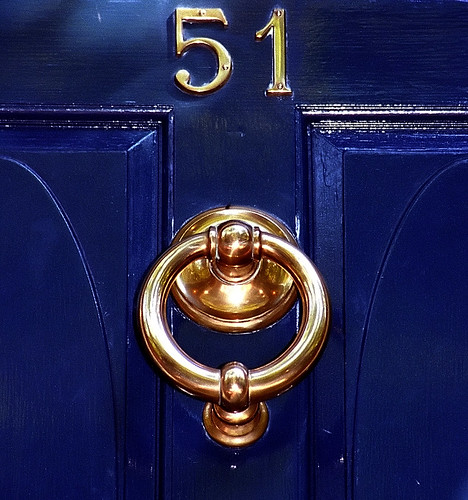 "Boston - Beacon Hill ""Door Knocker at 51"" 