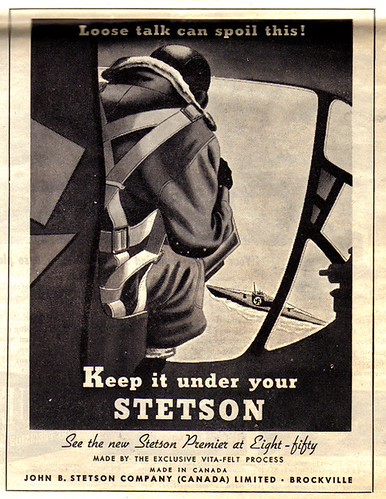 Vintage Ad #738: Keep It Under Your Stetson | by jbcurio