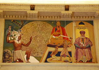Griffith Observatory - 'Time', a Hugo Ballin Mural | by Floyd B. Bariscale