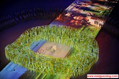 Pianist Lang Lang performs during the 2008 Beijing Olympics Opening Ceremony at the Bird's Nest Stadium | by Meiguoxing