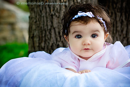 brown eyed baby girl | she was so sweet! | Melly.Mell | Flickr Cute Baby Girls With Brown Hair And Blue Eyes