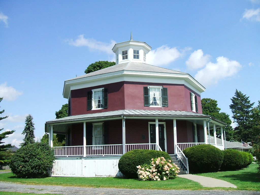 the octagon house camillus this is a view of the octagon flickr