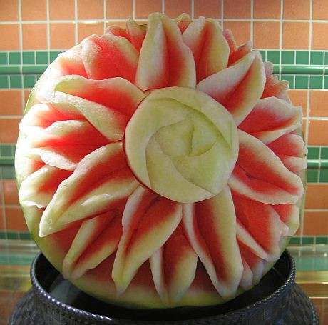 Carved watermelon | by Biggie*