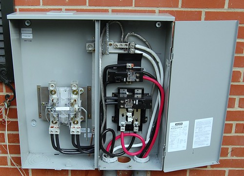 wiring diagram for 320 amp service multiple ground service