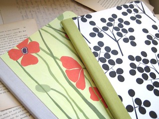 Set of 2 - Poppy and Pod Composition Notebooks | by boundto