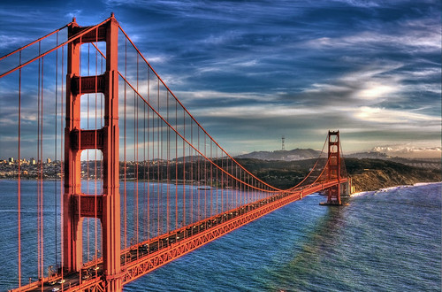 Golden Gate Sunset | by vgm8383