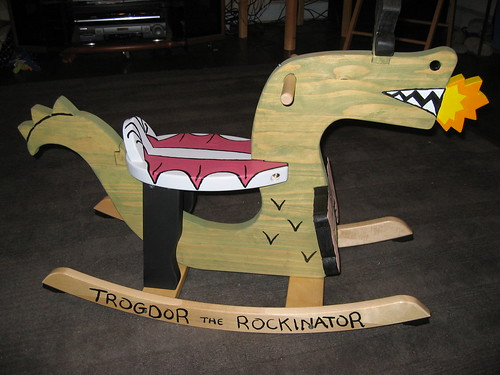 Trogdor the Rockinator | by gunterhausfrau